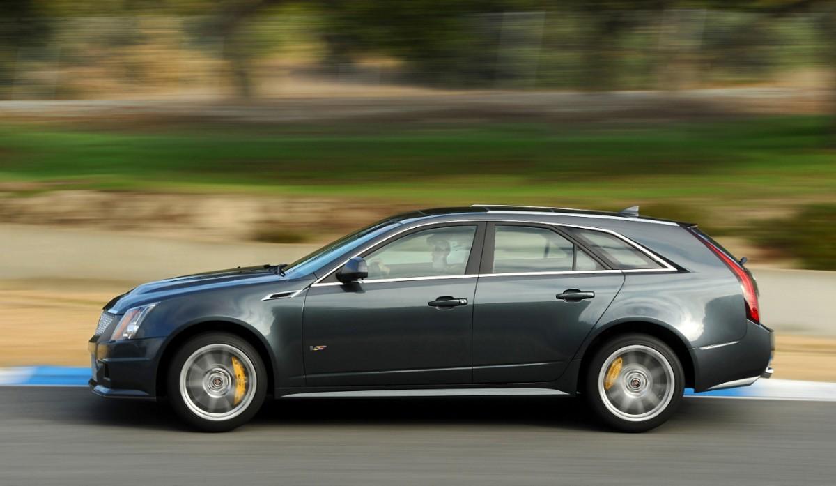 2013 Cadillac CTS-V Wagon - Information and photos - MOMENTcar