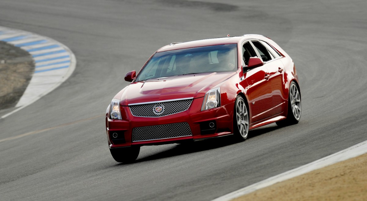 img v round system back exhaust black kpe tips cat korkar cadillac cts performance wagon shop