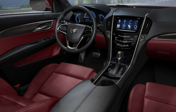 2013 Cadillac ATS Sedan overview