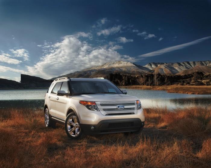 Ford Recalls 1.3 Million SUVS, Cars - 2013 Ford Explorer
