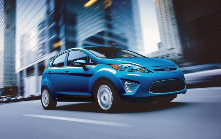2013 Ford Fiesta overview