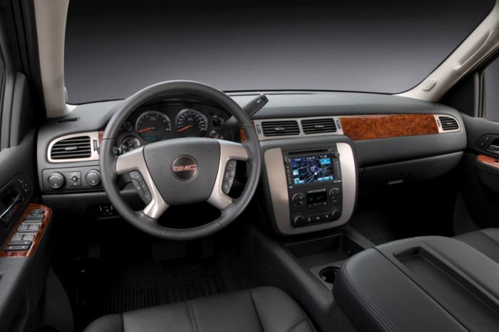 2013 Sierra HD Interior