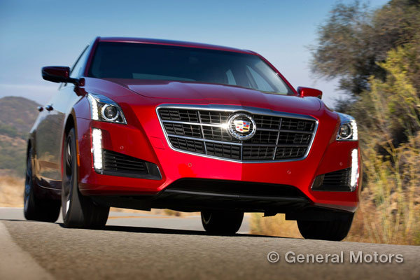 2014 Cadillac CTS Vsport Top Rated
