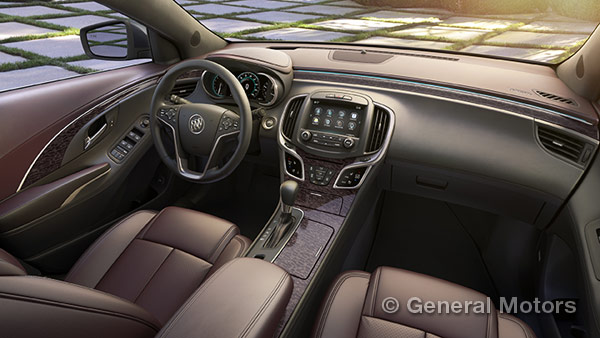2014 LaCrosse Ultimate Luxury Interior Package