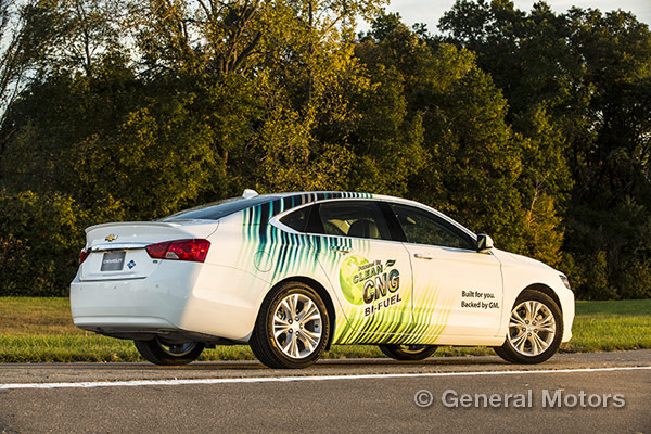 Pricing for the 2015 Bi-Fuel Chevy Impala announced