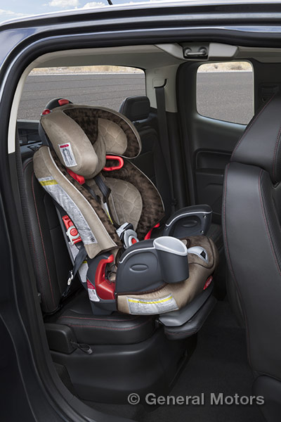 Check out the details on GM's extended rear seat cushion innovation.