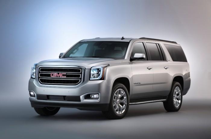 2015 GMC Yukon XL front