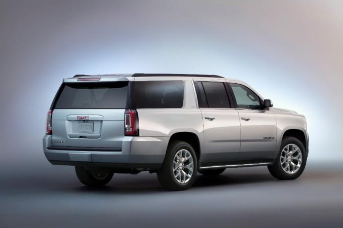 2015 GMC Yukon XL rear