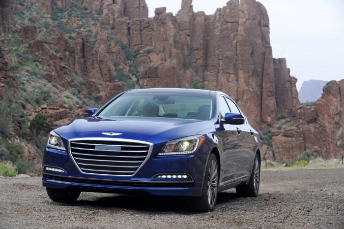 2015 Genesis Top Safety Pick+