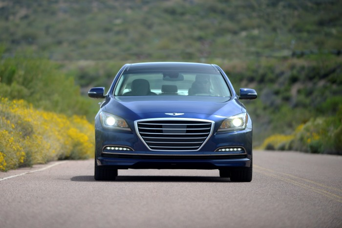Hyundai Genesis Technology Could Outsmart Speed Cameras