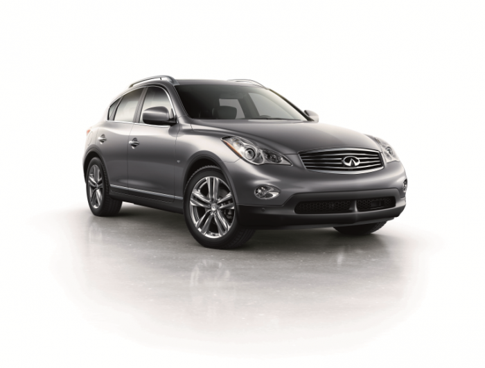 Pricing for 2015 Infiniti QX70 and QX50