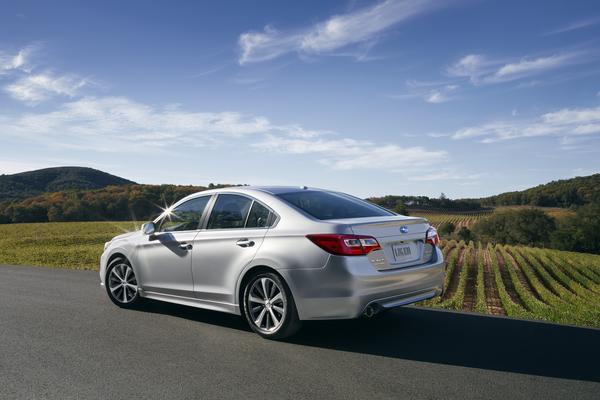 2015 Subaru Legacy | Subaru's Chicago Auto Show awards