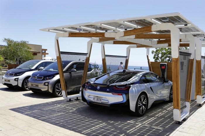 BMW Solar Carport Concept