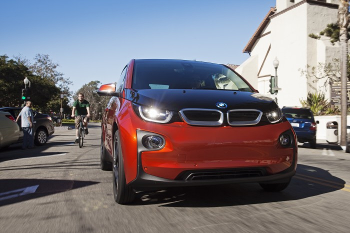The All-Electric BMW i3. Hydrogen-Fueled BMW i5