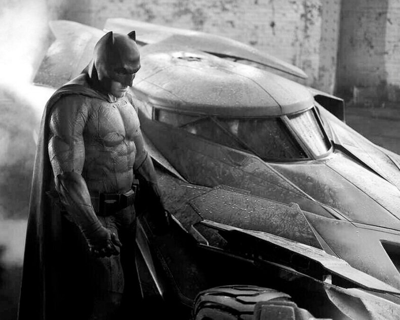 New Batmobile from Dawn of Justice