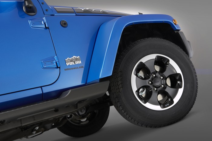 2013 Jeep Wrangler Polar special-edition model