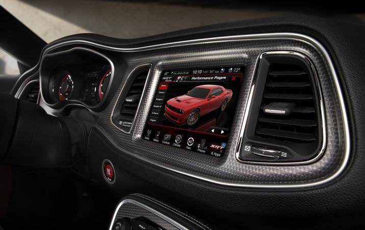 2015 challenger srt is no slouch with 485 hp tnw - 2017 dodge challenger interior lights ...