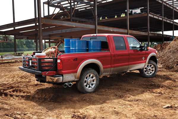 Ford to Recall 4,000 Super Duty F-Series Trucks