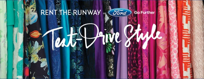 Rent The Runway Edition Ford Fusion