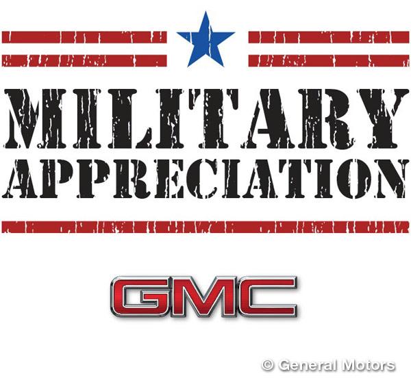 GMC Military Discount