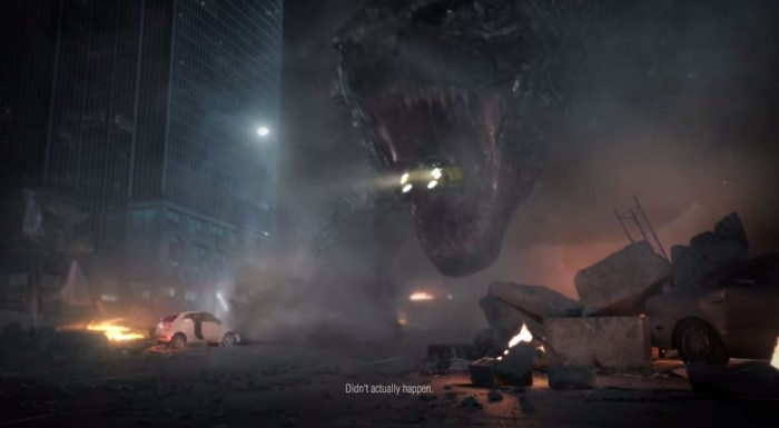 Godzilla Fiat Commercial