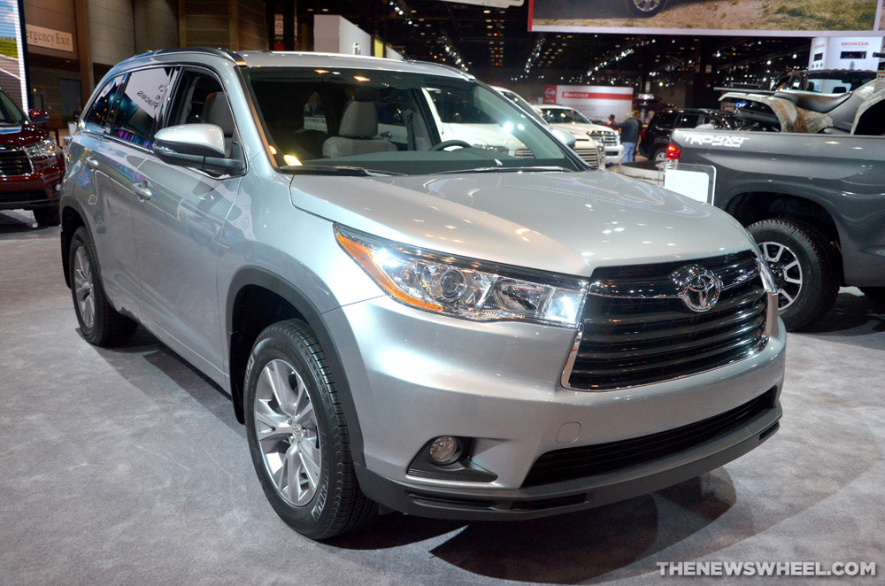 2015 Toyota Highlander a Five Star Safety Rating