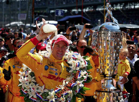 Ryan Hunter-Reay Wins 2014 Indianapolis 500