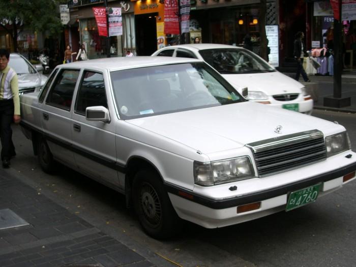 1986 Hyundai Grandeur