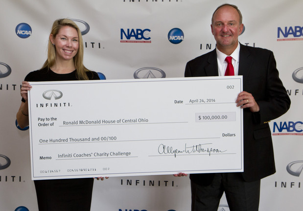 Infiniti Coaches Charity Challenge