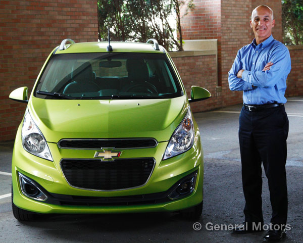 Jim federico gm global head of subcompact vehicles for General motors retirement benefits