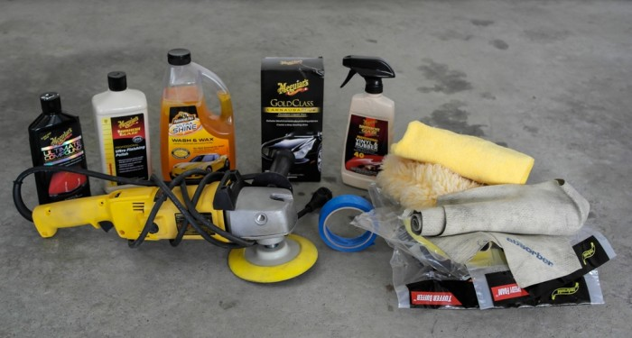 Buffing and Waxing your Car