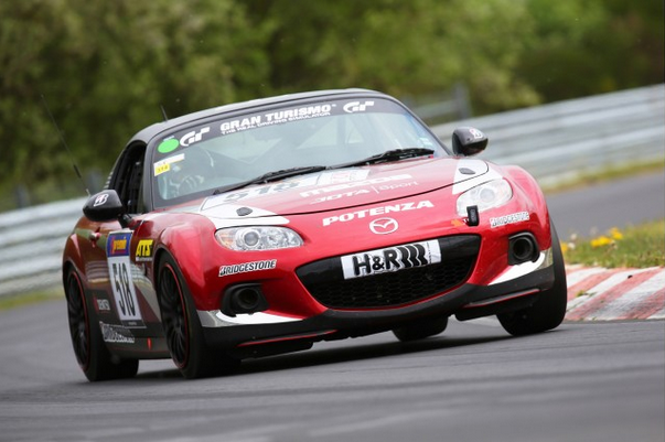 Miata in the 24 Hours Nurburgring