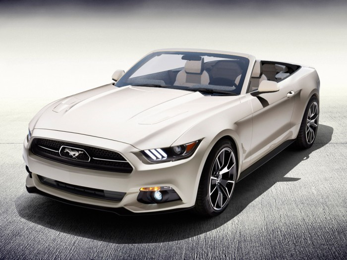2015 Mustang 50 Years convertible