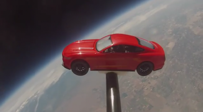 Mustang in Space