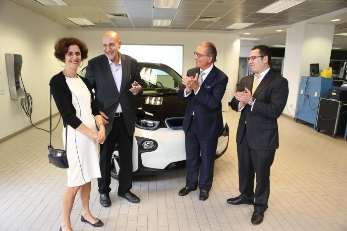 first BMW i3