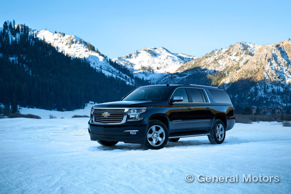 Full-Size Chevy SUVs Suburban