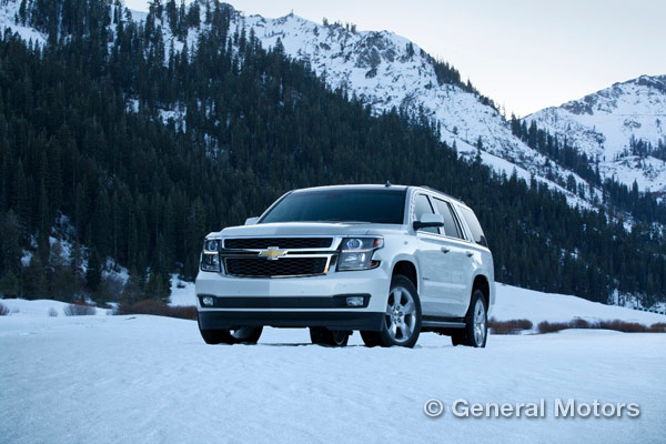 Full-Size Chevy SUVs Tahoe