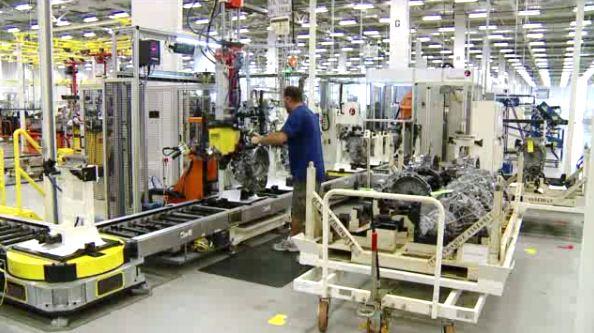 Chrysler Opens New Tipton Plant