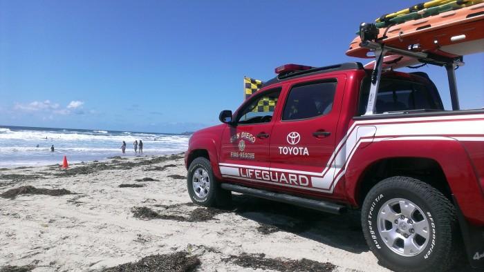 Toyota promotes beach safety