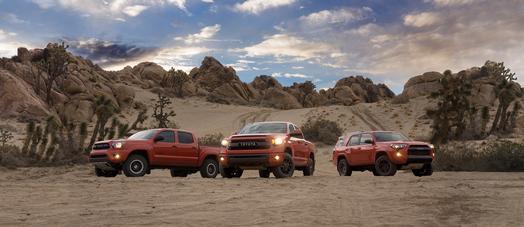 Toyota TRD Pro off-road kits