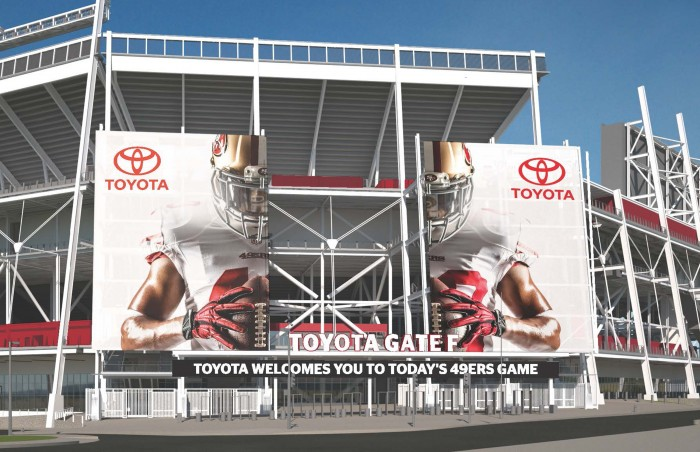Exclusive Automotive Partner of the San Francisco 49ers