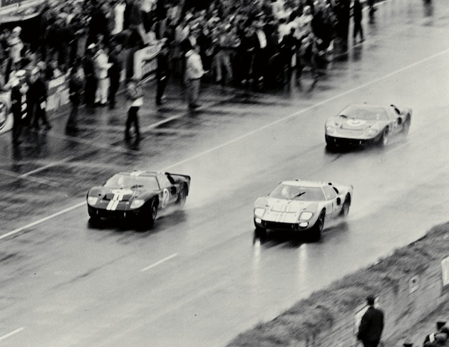 1966 GT40s Le Mans