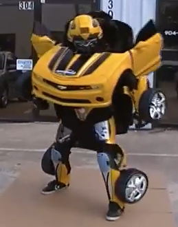 how to make a transformer costume that actually transforms