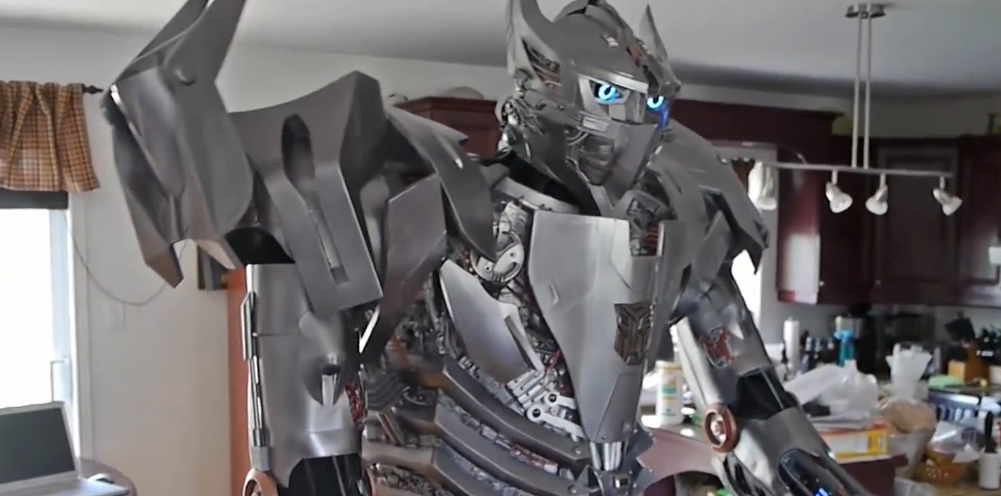 Homemade Transformers Costumes