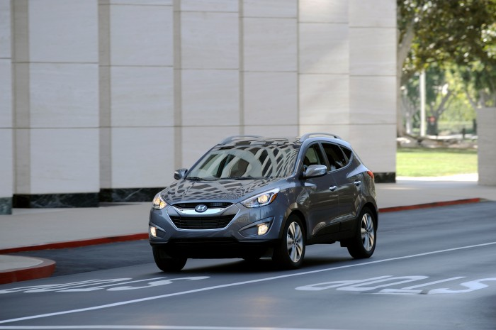2014 Hyundai Tucson exterior | Hyundai Tucson Wins a Vehicle Satisfaction Award