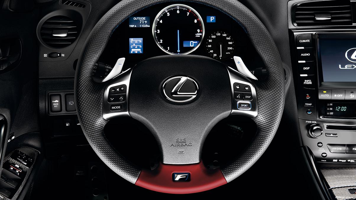 2014 Lexus IS F Overview