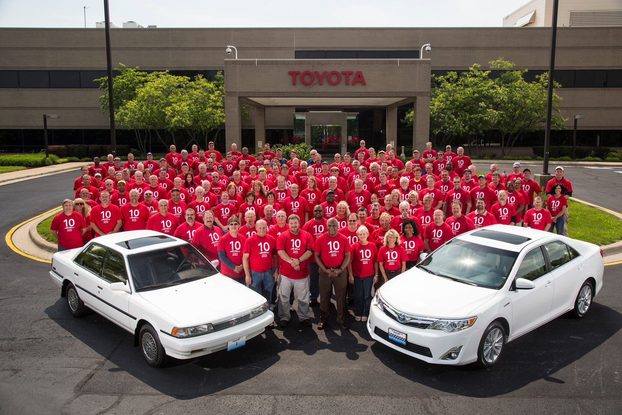 Perfect Revisiting The First Ever Car Produced At Toyotau0027s Georgetown, KY Plant    The News Wheel