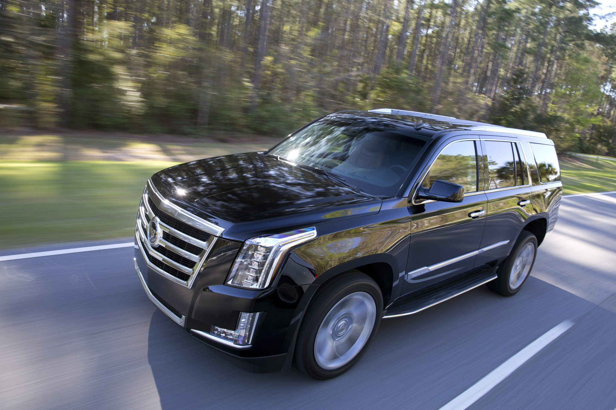 2015.5 Cadillac Escalade To Get 360 Degree Camera And New Transmission    The News Wheel