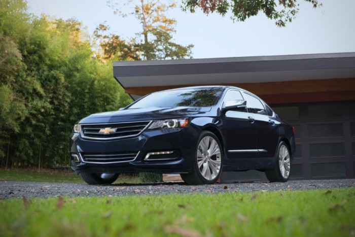NHTSA Awards the 2015 Impala a 5-Star Overall Safety Rating