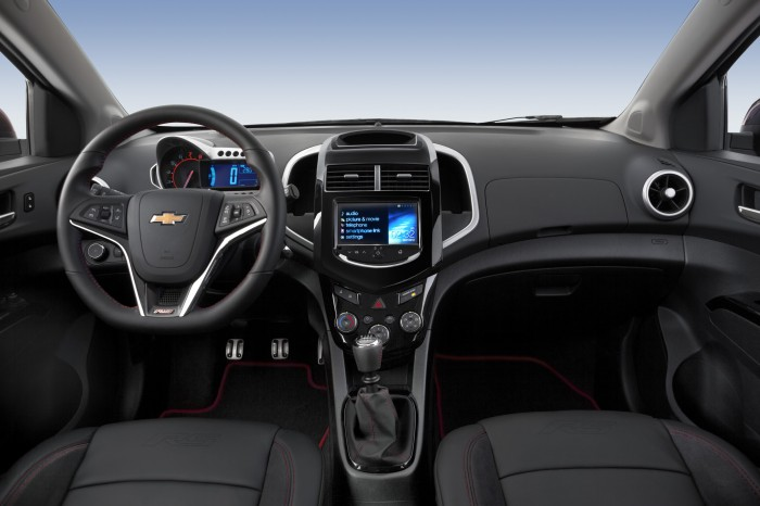 2015 Chevy Sonic updates